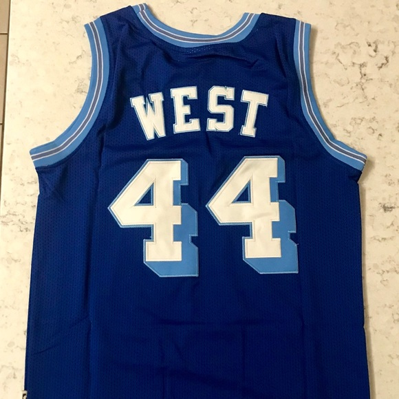 a782751b6 Vintage Jerry West Los Angeles Lakers NBA Jersey